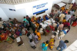 Compassion in Action: The Well-Being Free Medical Camp