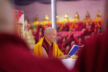The  37th Kagyu Monlam Begins in Bodhgaya