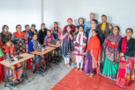 Compassion in Action – Sewing Happiness Project