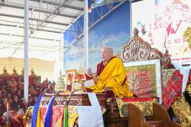 HE Goshir Gyaltsab Rinpoche on Mind Training: The Seventy-Two Exhortations Day Four: The End Result is Liberation