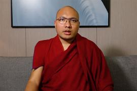 A Message from the Karmapa Precedes an Afternoon Session of Prayers and Dedications for the Dead
